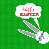 Easter Bunny. White  Rabbit. Stock Images
