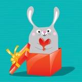 Easter bunnyleb m1 Stock Image