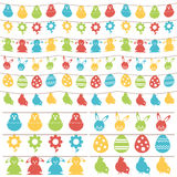 Easter bunting Stock Photo