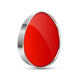 Easter button Stock Images