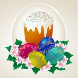 Easter-cake Royalty Free Stock Images