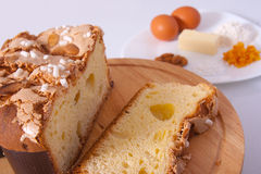 Easter cake. Traditional Italian dessert, eat during the Easter Stock Photo