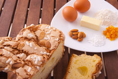 Easter cake. Traditional Italian dessert, eat during the Easter Royalty Free Stock Photos
