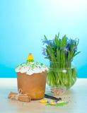 Easter cake, cinnamon and vanilla Stock Photography