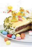 Easter cake, close-up Royalty Free Stock Photography