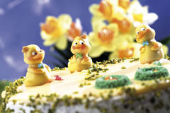 Easter cake, close-up Stock Photo