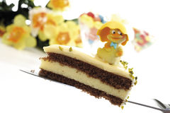 Easter cake, close-up Stock Photos