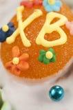 Easter cake, closeup Stock Photos
