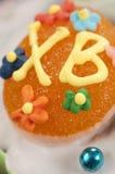 Easter cake, closeup Royalty Free Stock Image