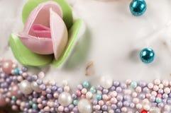Easter cake, closeup Royalty Free Stock Photos