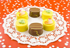 Easter cake cups Royalty Free Stock Photos