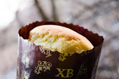 Easter cake. Easter. Baked Easter. Holiday Easter. Religious holiday. Holiday believers. Easter cake for the holiday. Homemade baking. Kulich on the holiday stock images