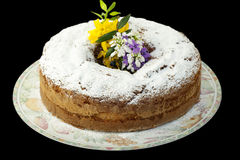 Easter cake with homemade Royalty Free Stock Image