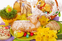 Free Easter Cake In The Shape Of Lamb Stock Photography - 22756202