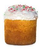 Easter cake isolated on white Stock Photo