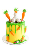 Easter cake isolated Stock Image