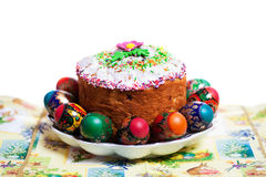 Easter cake kulich Stock Photo