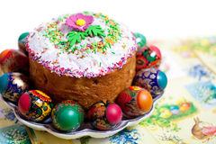 Easter cake kulich Stock Photography