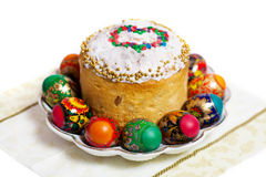 Easter cake kulich Royalty Free Stock Photos