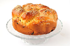Easter Sweet Bread Stock Photo