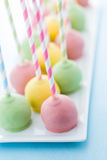 Easter cake pops Royalty Free Stock Photos