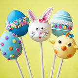 Easter cake pops Stock Photography