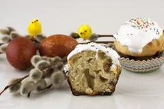 Easter cake, preparation for Easter Stock Image