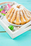 Easter cakes and bunnies Royalty Free Stock Images