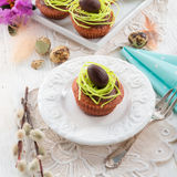 Easter cakes Stock Image