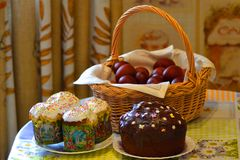 Easter cakes Stock Photography