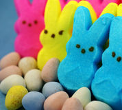 Easter candies. A bunch of Easter candies Royalty Free Stock Photo