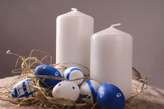 Easter Candle Stock Photography