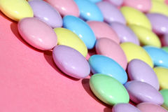 Easter Candy. Macro image of Easter Colored Candy Stock Photography