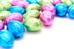 Easter candy background Royalty Free Stock Images