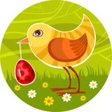 Easter card vector illustration