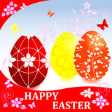 Easter card. Stock Photography
