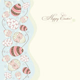 Easter card stock illustration