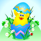 Easter card Royalty Free Stock Image