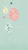 Easter card vector illustration
