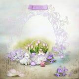 Easter card royalty free illustration