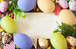 Easter card. Royalty Free Stock Images