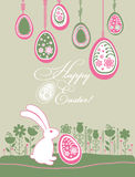 Easter card. Royalty Free Stock Photography