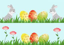 Easter card, banner Royalty Free Stock Image