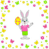 Easter card. Stock Images