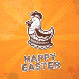 Easter card concept. Royalty Free Stock Images