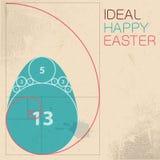 Easter card concept. Stock Photos