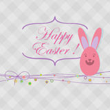 Easter card with copy space. + EPS8. Vector file Royalty Free Illustration