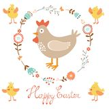 Easter card Stock Photo