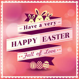 Easter card design. Template Vector Stock Images