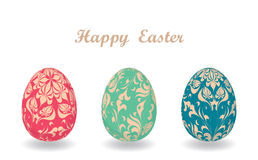 Easter card with egg Royalty Free Stock Photo
